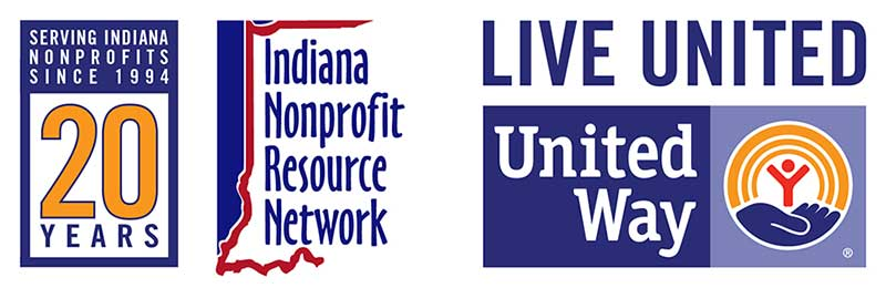 Indiana Nonprofit Resource Network 20th Anniversary Logo