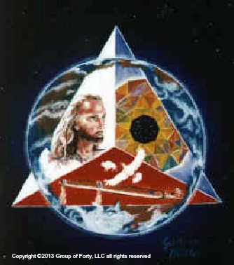 Group of Forty Sacred Triangle