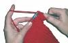 Beginner's knitting class