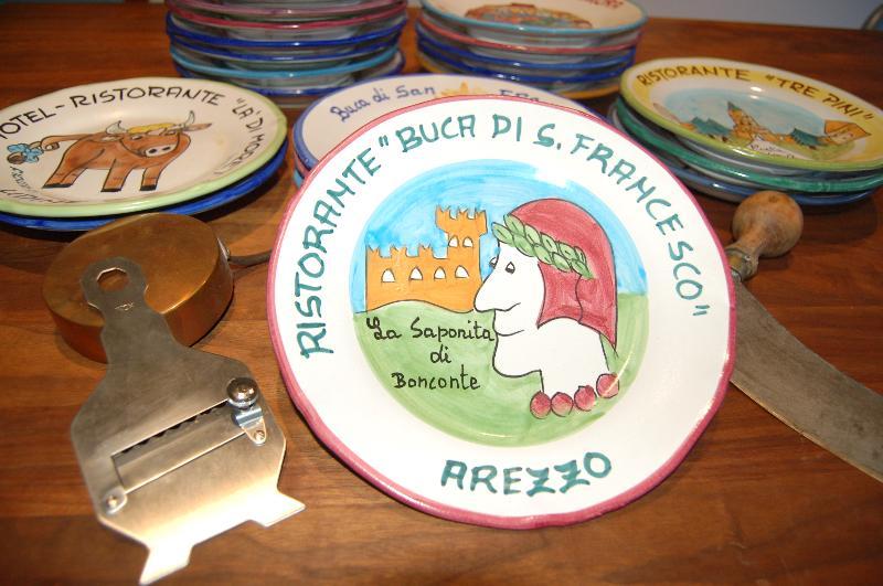 arezzo plates