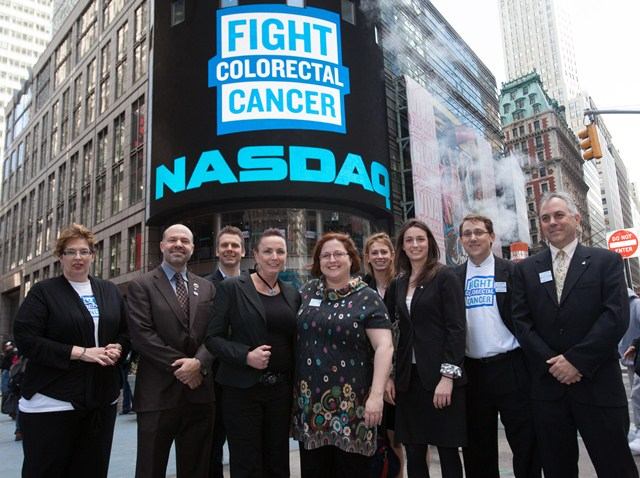 Staff at NASDAQ March 2012