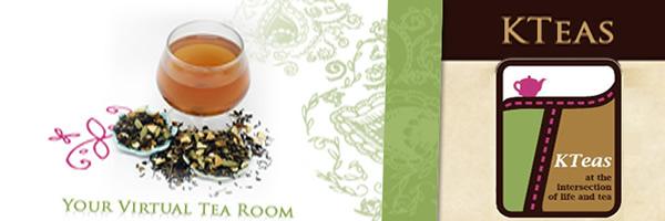 Virtual American Tea House + logo block