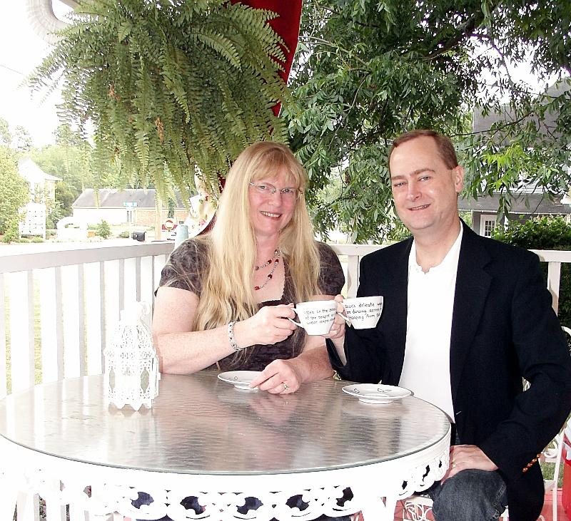 KTeas owners toasting you with Tea