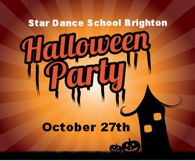 Star Dance School Halloween Party
