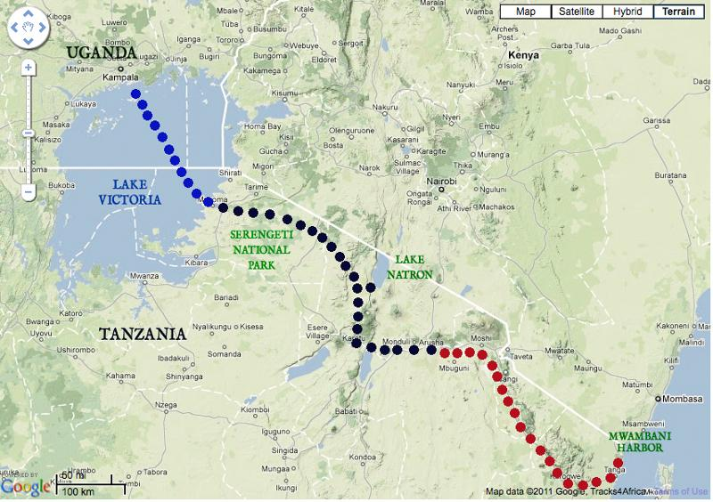 Uganda_Tanga route