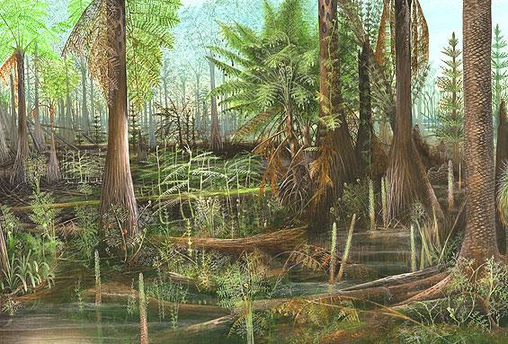 early earth plants