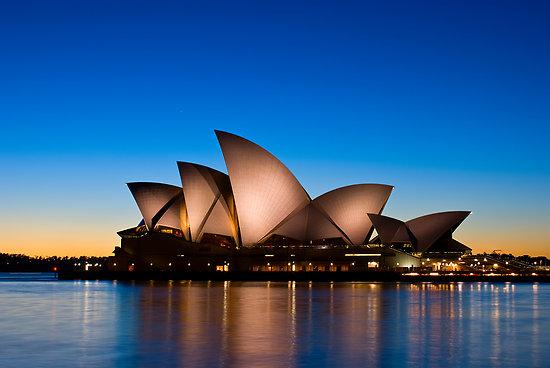 Sydney Opera House Evening