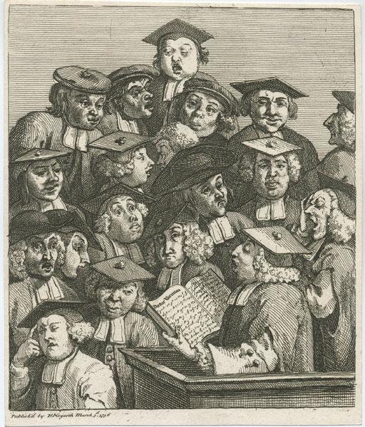 Hogarth's Scholars