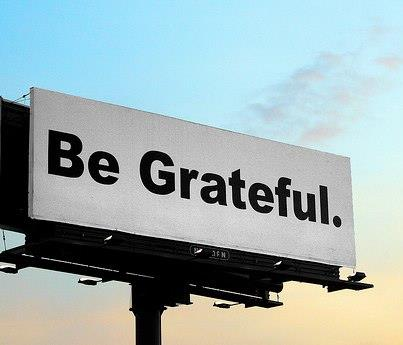 Be Grateful Billboard