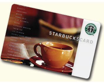 starbucks gift card pic