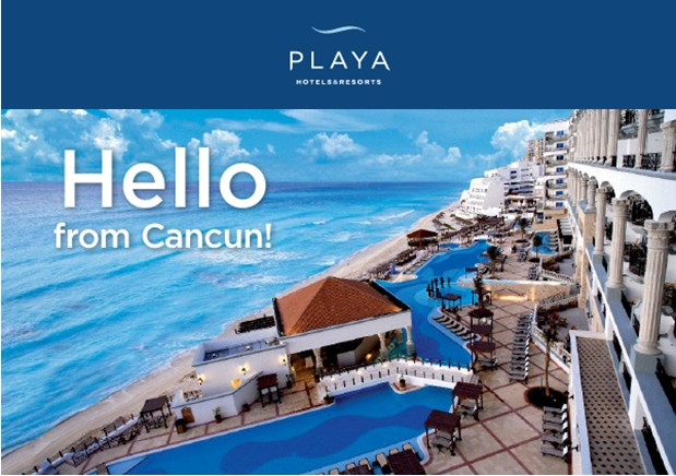 Hello from Cancun Image