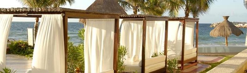 El Cid beach beds pic