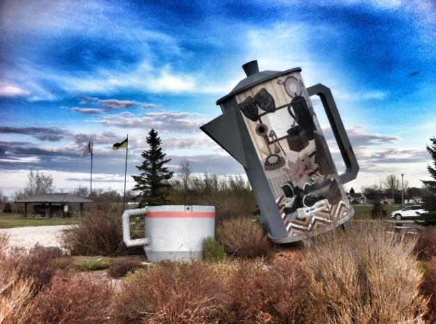 Big Coffee Pot