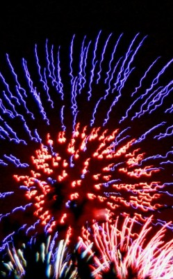 Fireworks at Canto del Sol