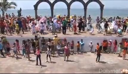 PVR flash mob