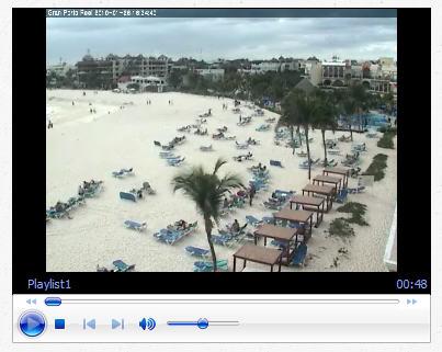 Beach Webcam pic Gran Porto Real