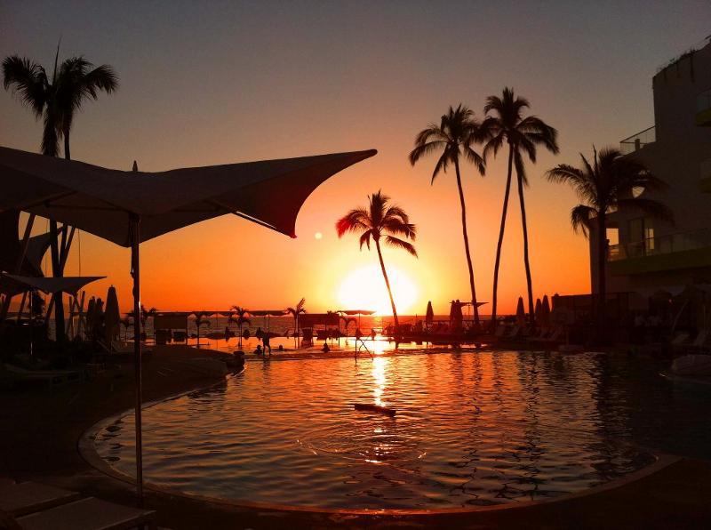PVR sunset