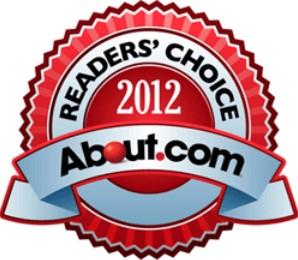 About.com Reader's Choice Logo