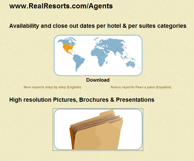 Real Resorts Agents pic