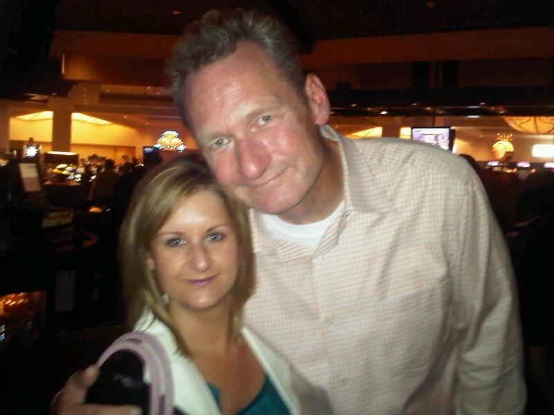 Erin Hill and Ryan Stiles