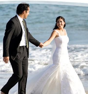 Canto del Sol Wedding Couple