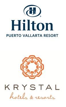Hilton and Krystal logos