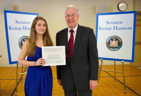 Senator Kemp Hannon