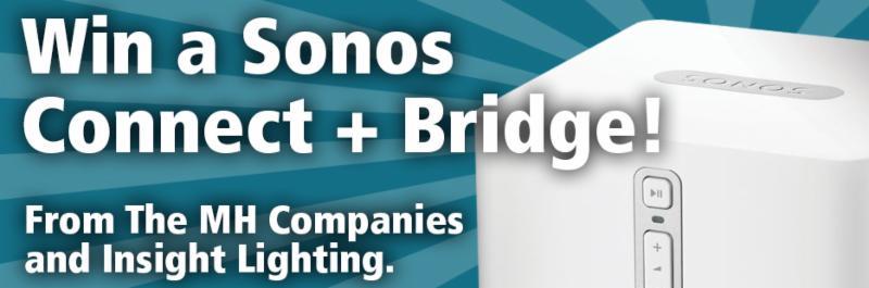 Win a Sonos Connect + Bridge