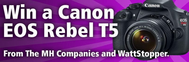 Win a Canon EOS Rebel T5