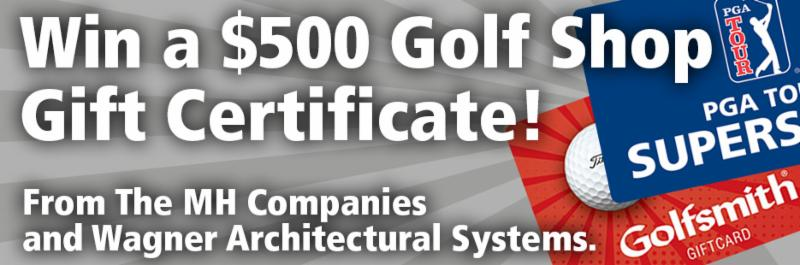 Win a $500 Golf Shop Gift Certificate!