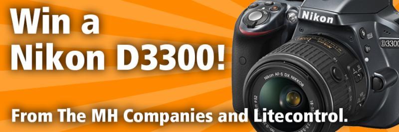 Win a Nikon D3300!