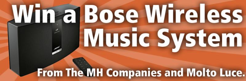 Enter to Win a Bose Wireless Music System