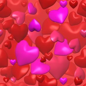 Hearts red