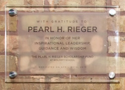 Pearl H. Rieger Scholarship