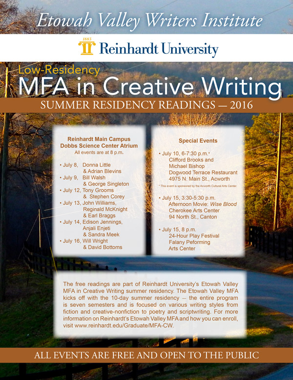 mfa creative writing rankings low residency The low-residency format of our creative writing graduate programs is based on the sort of mentorship relationships that informed the development of many accomplished writers prior to the establishment of traditional, residential mfa programs.