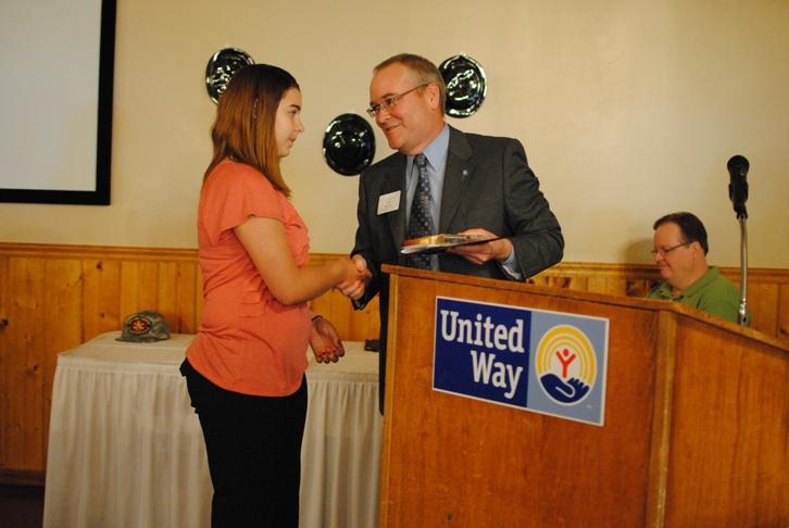 2012 commissioners youth award Natasha Vintila