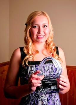 Stephanie Watson, IVH Youth Award 2013