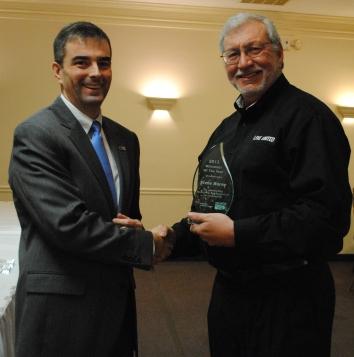 Steve Horne 2012 Volunteer of the Year