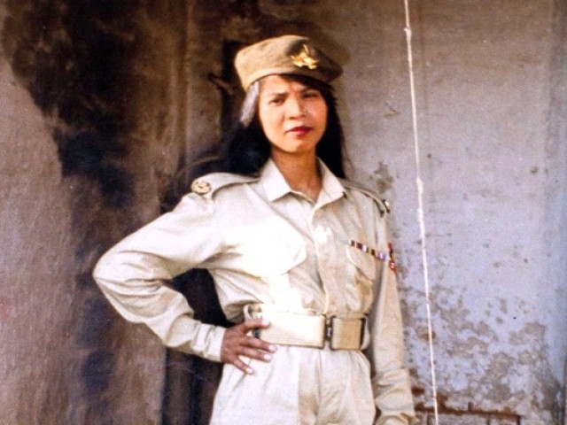 Asia Bibi in her younger years