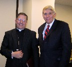 Archbishop Sleiman and William J Murray