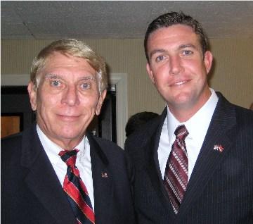 William Murray and Congressman Elect Duncan Hunter, Jr.