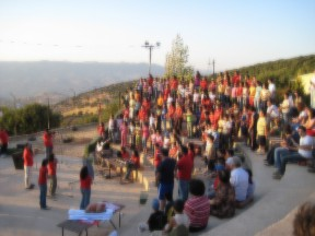 Christian Camp in Jordan