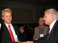 Geert Wilders and William J Murray