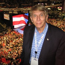 William J Murray at RNC Convention in 2008