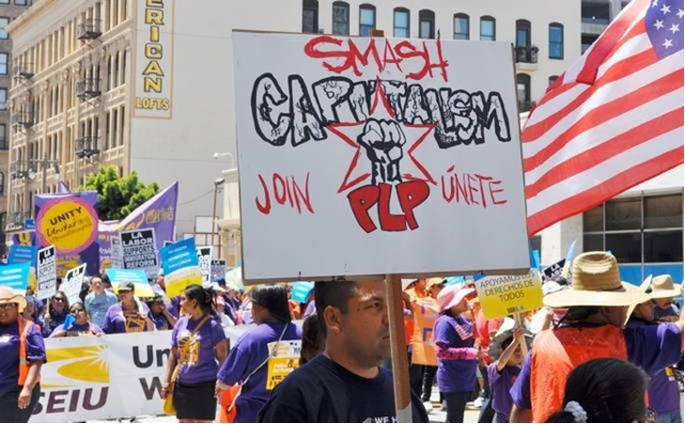 SEIU Communist May Day Parade