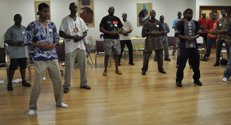 Black Men's Holistic Health Expo 2011 Lower Blood Pressure Workshop