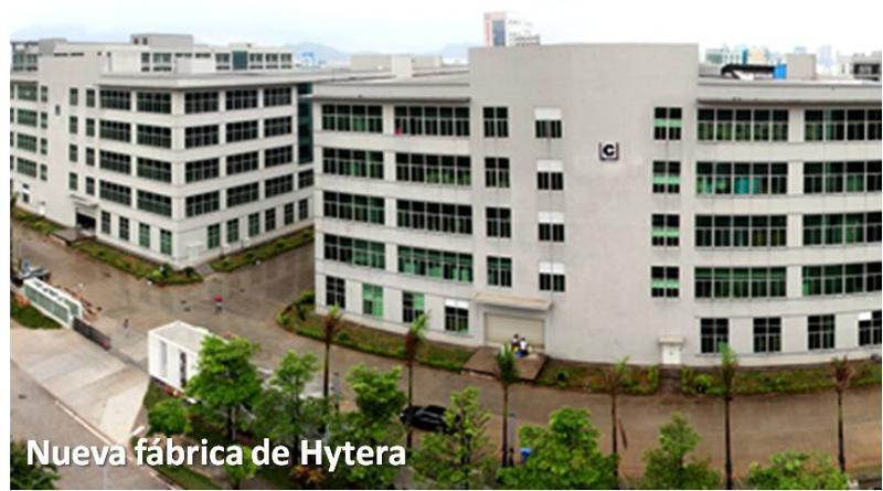 Nueva fabrica de Hytera