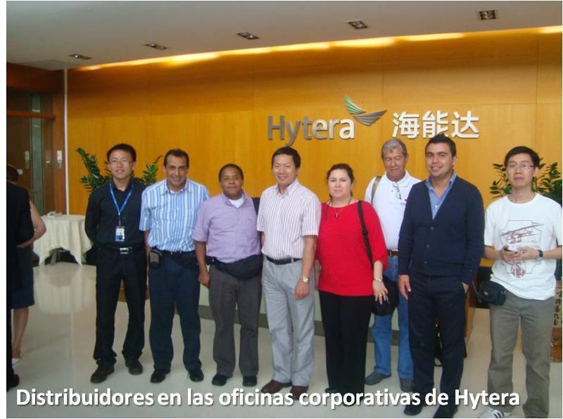 Viaje a China de distribuidores