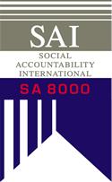 SA8000 Certified Facilities Industry Chart