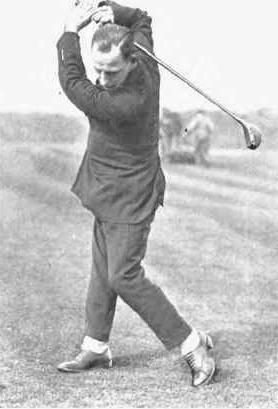 Old Timey Golf Photo